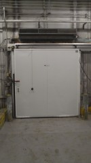 Refrigeration door New